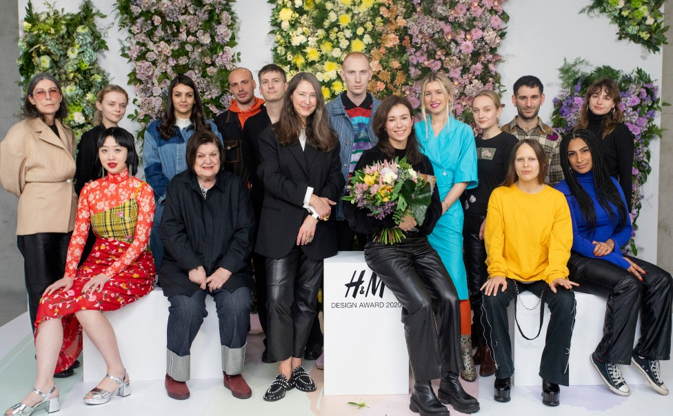 SABINE SKARULE IS THE WINNER OF THE H&M DESIGN AWARD 2020