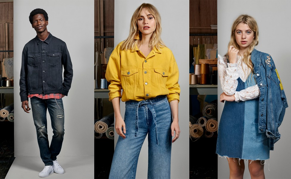 how to wear double denim 2018